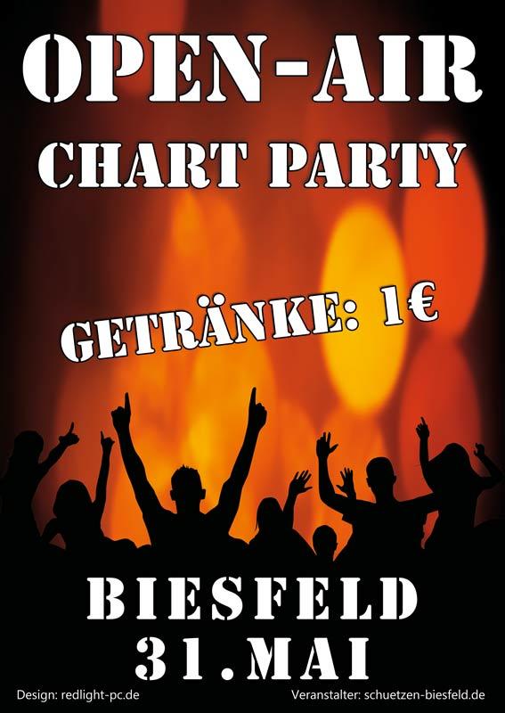 Plakat Chart Party