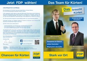 FDP Flyer A4 - Aussenseiten