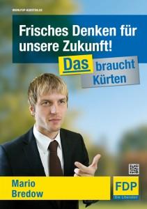 FDP Plakat A1 - Bredow