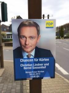 FDP Plakat A1 - Lindner