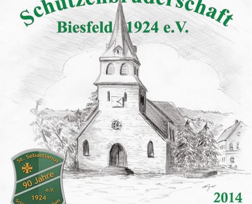 Cover des Festheftes 2014