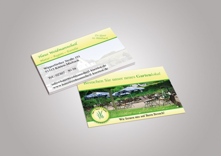 Visitenkarten Weidmannsheil