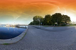 Panorama Kiel Hafen 1