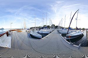 Panorama Kiel Hafen 2