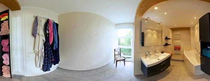 Panorama Badezimmer