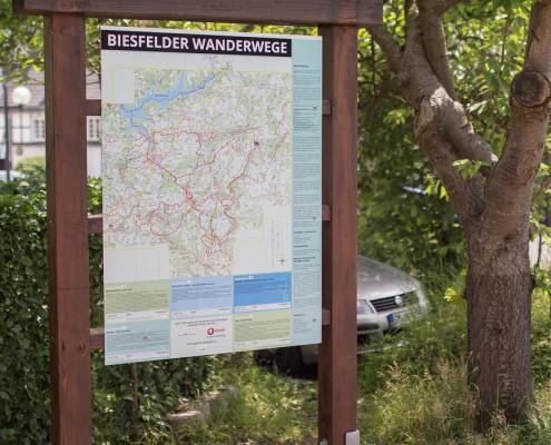 Biesfelder Wandertafel