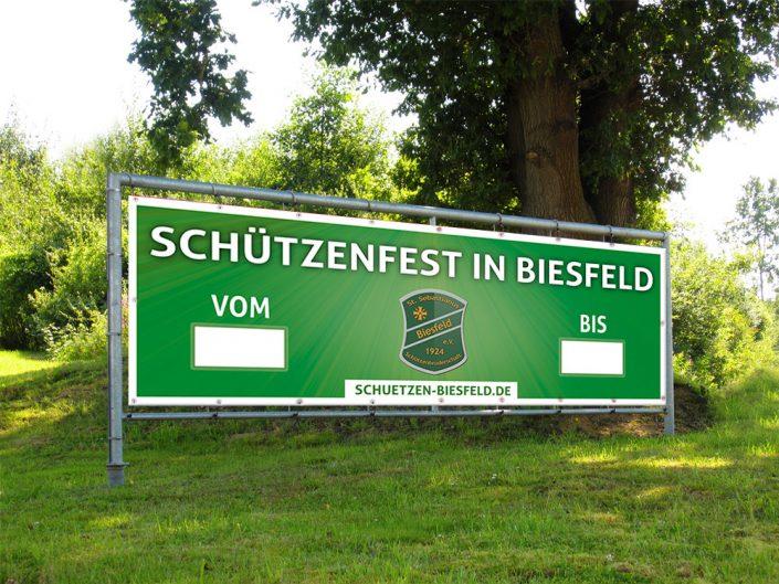 Banner Schützenfest Mockup