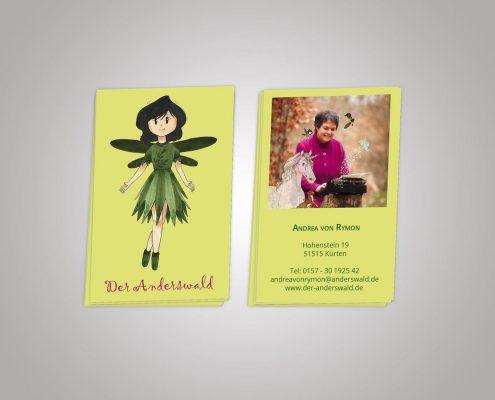 Visitenkarten Der Anderswald