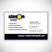 Simon Elektro Magnetschild