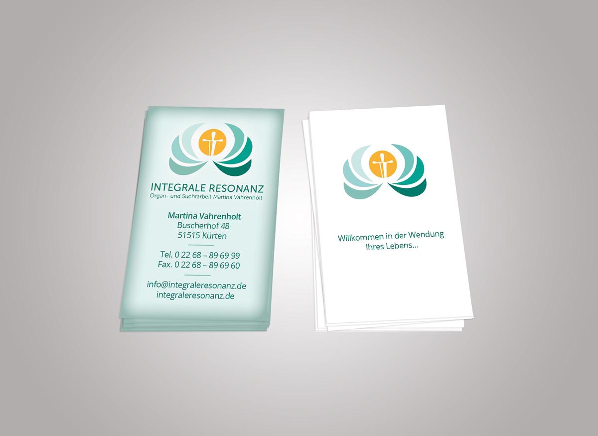 Visitenkarten Integrale Resonanz Redlight Pc Service