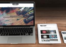 Mockup Webseite Kuehr